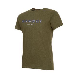 Mammut Sloper T-Shirt Men T-Shirt Herren iguana melange PRT3