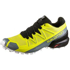 Salomon Speedcross 5 Trailrunning Schuhe Herren Sulphur Spring-black-white
