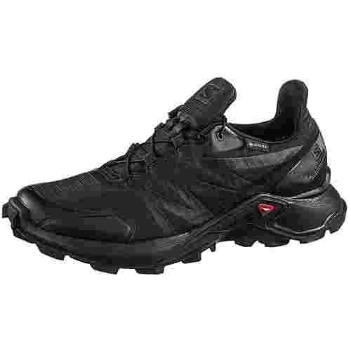 Salomon Supercross GTX W Trailrunning Schuhe Damen black-black-black
