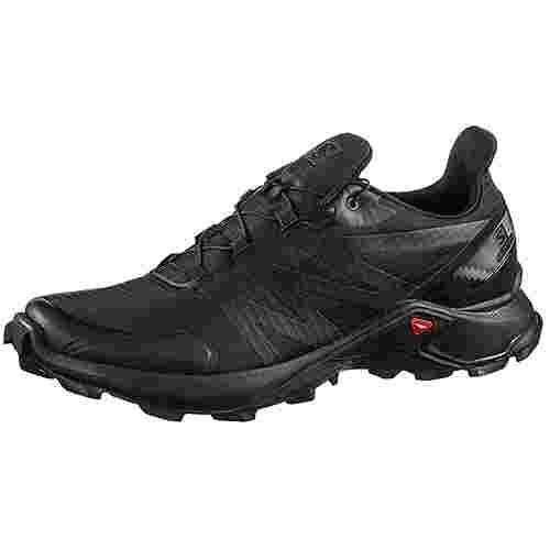Salomon Supercross Trailrunning Schuhe Herren black-black-black