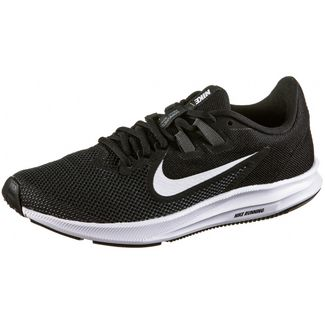 Nike Downshifter 9 Laufschuhe Damen black-white-anthracite
