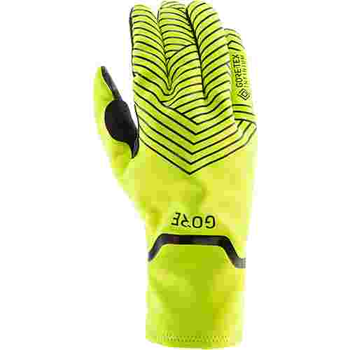 GORE® WEAR GORE-TEX® C3 INFINIUM™ STRETCH Fahrradhandschuhe neon yellow-black