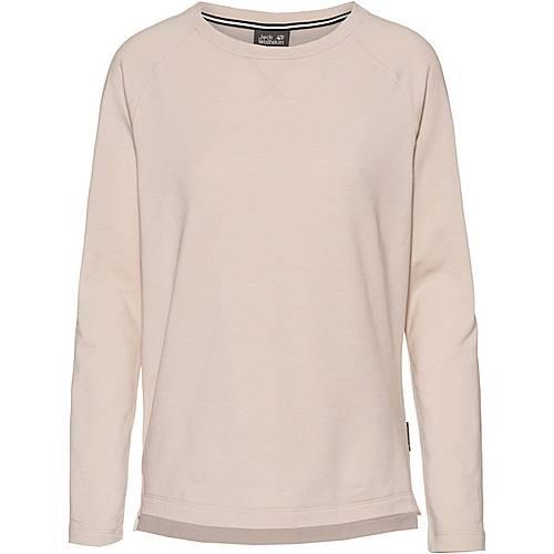buy popular 13e80 789d4 Jack Wolfskin JWP Sweatshirt Damen winter pearl im Online Shop von  SportScheck kaufen