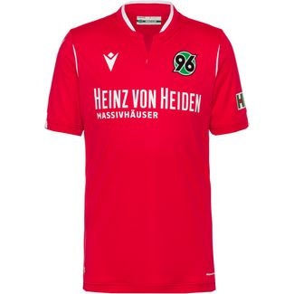 macron Hannover 96 19/20 Heim Fußballtrikot Herren rot