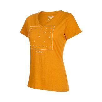 Mammut Zephira T-Shirt Women T-Shirt Damen golden melange PRT2