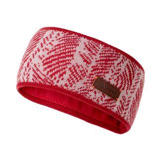 Mammut Snow Headband Stirnband Damen dragon fruit-blush