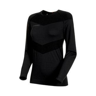 Mammut Vadret Longsleeve Women Langarmshirt Damen phantom-black