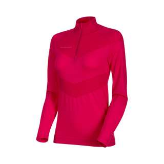 Mammut Merino Vadret Half Zip Longsleeve Women Langarmshirt Damen dragon fruit-dark dragon fruit