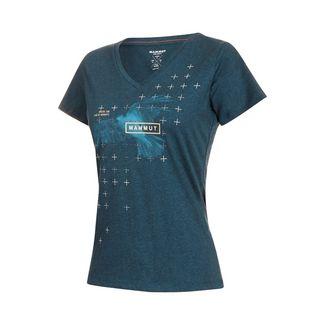 Mammut Zephira T-Shirt Women T-Shirt Damen wing teal melange PRT1