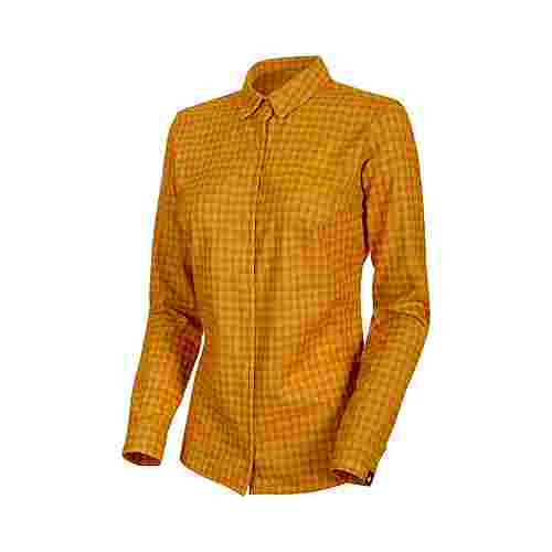 Mammut Winter Longsleeve Shirt Women Funktionsbluse Damen golden-dark golden