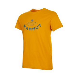 Mammut Seile T-Shirt Men T-Shirt Herren golden PRT2
