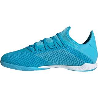 adidas X 19.3 IN Fußballschuhe bright cyan