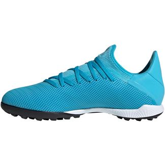 adidas X 19.3 TF Fußballschuhe bright cyan
