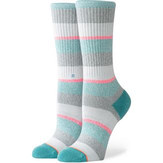Stance All that Crew Sneakersocken Damen green-grey