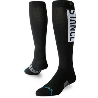 Stance OVER THE CALF OG WOOL Sportsocken Herren black