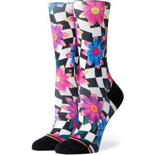 Stance Crazy Daisy Crew Sneakersocken Damen black