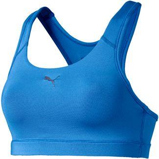 PUMA 4Keeps Sport-BH Damen blue glimmer