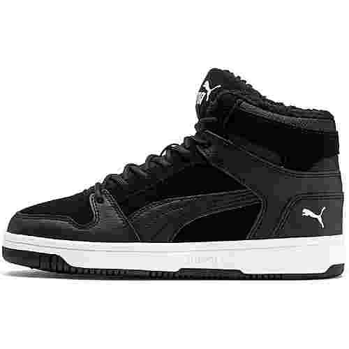 PUMA Rebound Sneaker Kinder puma-black-puma-white