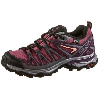 Salomon X ULTRA 3 PRIME GTX® Multifunktionsschuhe Damen malaga-potent purple-desert flower