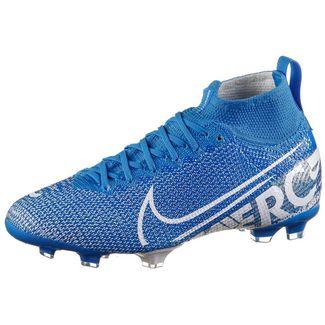 Nike JR MERCURIAL SUPERFLY 7 ELITE FG Fußballschuhe Kinder blue hero-white-obsidian