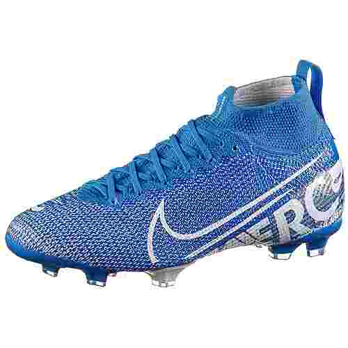 Nike JR MERCURIAL SUPERFLY 7 ELITE FG Fußballschuhe Kinder blue hero-white-obsidian