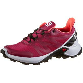 Salomon Supercross W Trailrunning Schuhe Damen cerise.-pearl blue-fiery cor