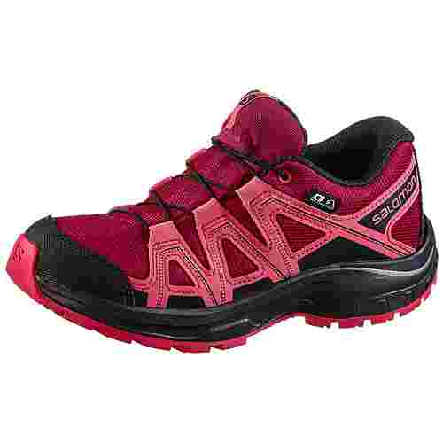 Salomon Kicka Multifunktionsschuhe Kinder cerise.-calypso-coral-evening B