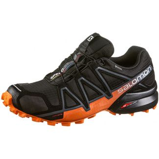 Salomon GTX® SPEEDCROSS 4 Trailrunning Schuhe Herren black-exotic orange-ebony