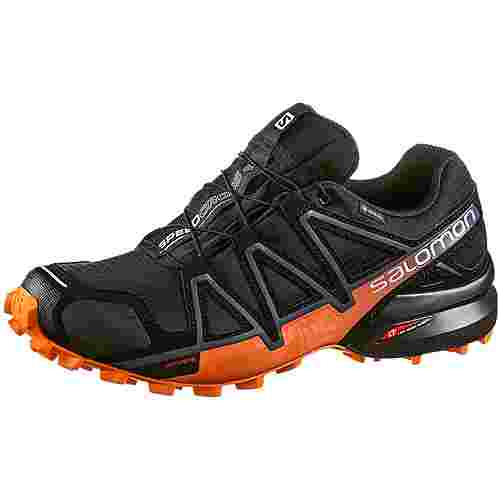 Salomon SPEEDCROSS 4 GTX® Trailrunning Schuhe Herren black-exotic orange-ebony