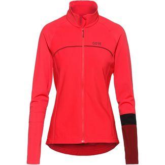 GORE® WEAR C5 Thermo Jersey Fahrradtrikot Damen hibiskus pink/chestnut