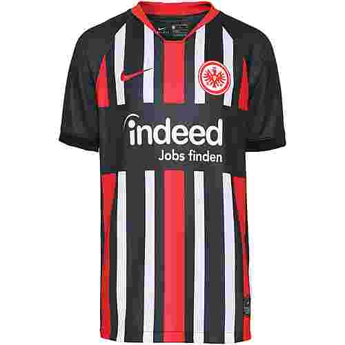Nike Eintracht Frankfurt 19/20 Heim Fußballtrikot Kinder black-university red