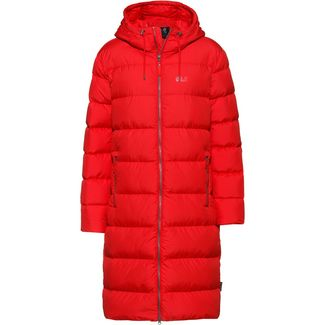 Jack Wolfskin CRYSTAL PALACE Daunenmantel Damen ruby red