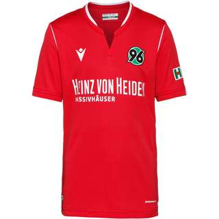 macron Hannover 96 19/20 Heim Fußballtrikot Kinder rot