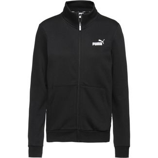 PUMA Essential Sweatjacke Damen cotton black