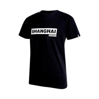 Mammut City T-Shirt Men T-Shirt Herren black print: Shanghai