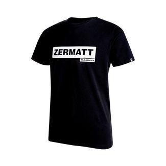 Mammut City T-Shirt Men T-Shirt Herren black print: Zermatt