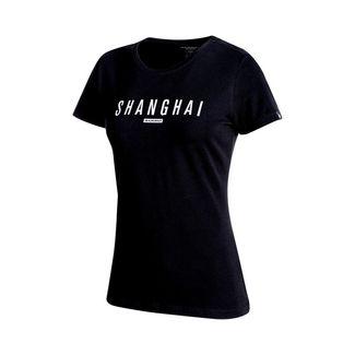 Mammut City T-Shirt Women T-Shirt Damen black print: Shanghai