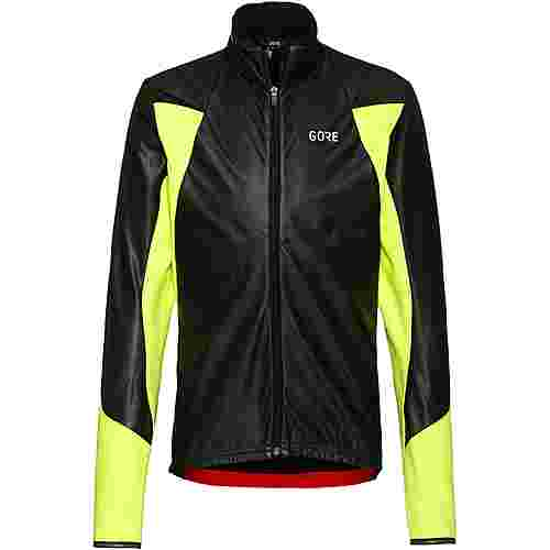 GORE® WEAR C5 GTX INFINIUM™ Soft Lined Thermo Fahrradjacke Herren black-neon yellow
