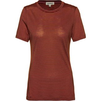 ARMEDANGELS Lidaa T-Shirt Damen maroon-evening blue