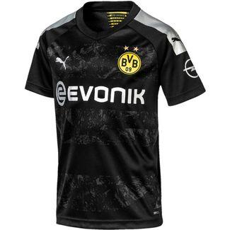 PUMA Borussia Dortmund 19/20 Auswärts Fußballtrikot Kinder puma black