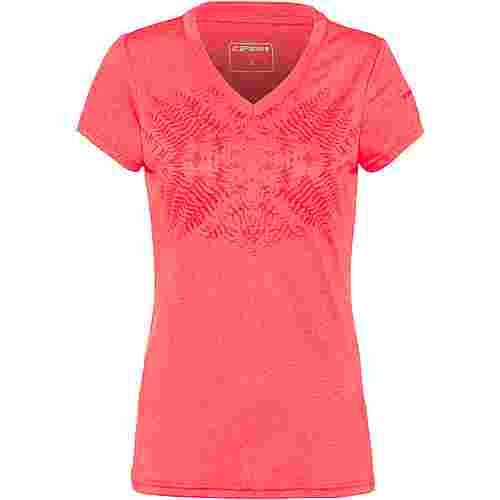 ICEPEAK Sumitra Funktionsshirt Damen coral-red