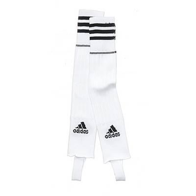 adidas Stutzen weiß/schwarz