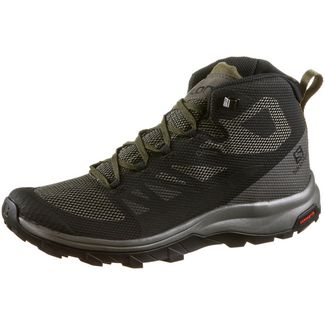 Salomon OUTline Mid GTX® Wanderschuhe Herren black-beluga-capers