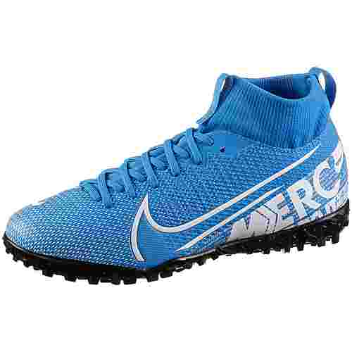 Nike JR MERCURIAL SUPERFLY 7 ACADEMY TF Fußballschuhe Kinder blue hero-white-obsidian