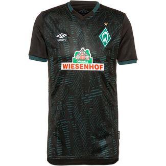 UMBRO Werder Bremen 19/20 3rd Fußballtrikot Herren black / june bug