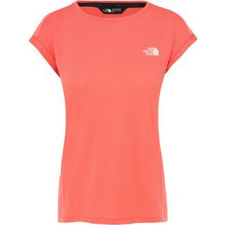 The North Face Tanken Funktionsshirt Damen radiant orange