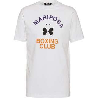 Gym Yilmaz BRRRP! x SportScheck Mariposa T-Shirt white-orange
