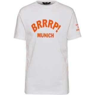 Gym Yilmaz BRRRP! x SportScheck Munich T-Shirt white-orange