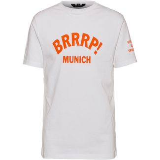 Gym Yilmaz BRRRP! x SportScheck Munich T-Shirt white-orange