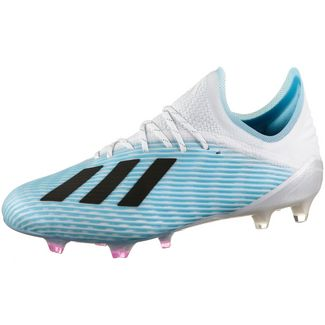 adidas X 19.1 FG Fußballschuhe bright cyan